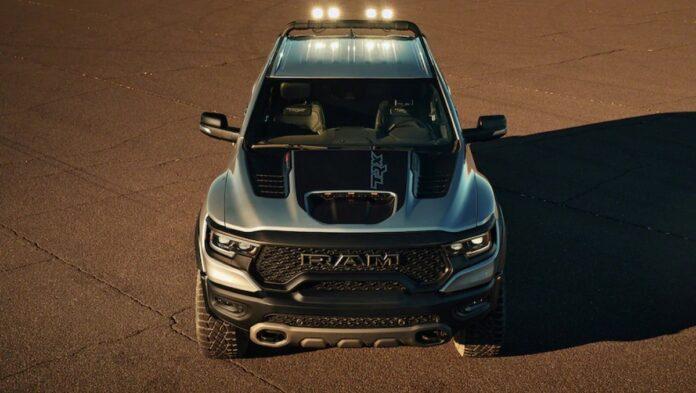 2022 Ram 1500 TRX front