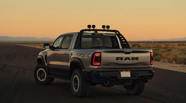 2022 Ram 1500 TRX rear