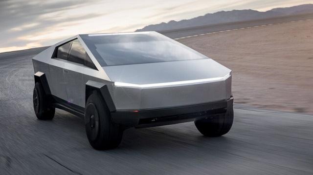 2022 Tesla Cybertruck front
