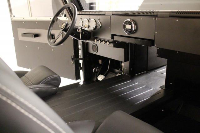 2022 Bollinger B2 interior