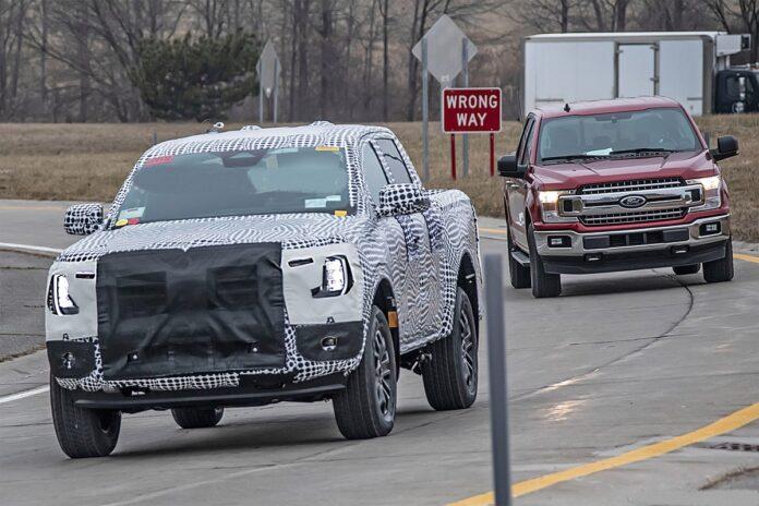 2022 Ford Ranger Plug-In Hybrid front