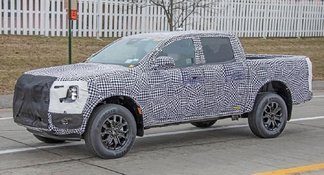 2022 Ford Ranger Plug-In Hybrid side