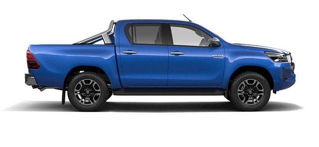 2022 Toyota Hilux side