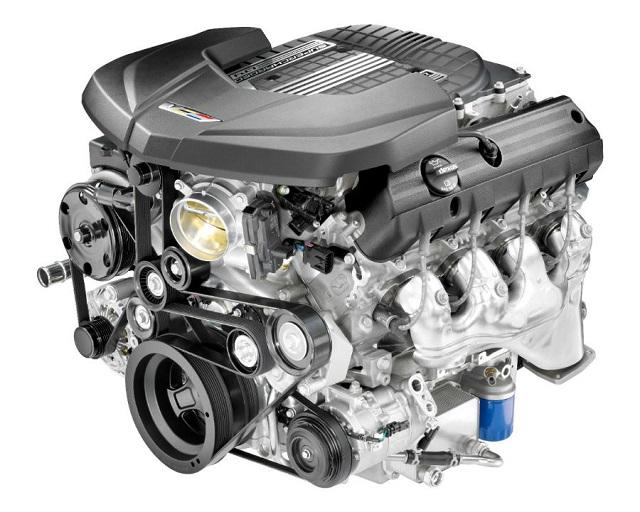 2022 Chevy Silverado ZRX engine