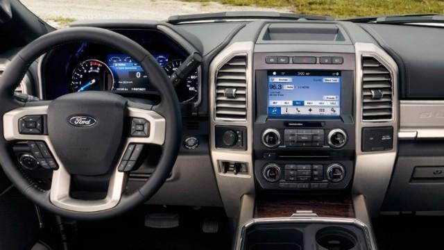 2022 Ford F-250 Super Duty interior