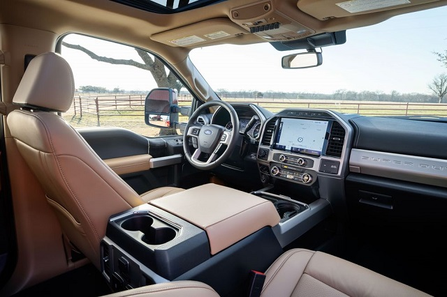 2022 Ford F-Series Super Duty interior