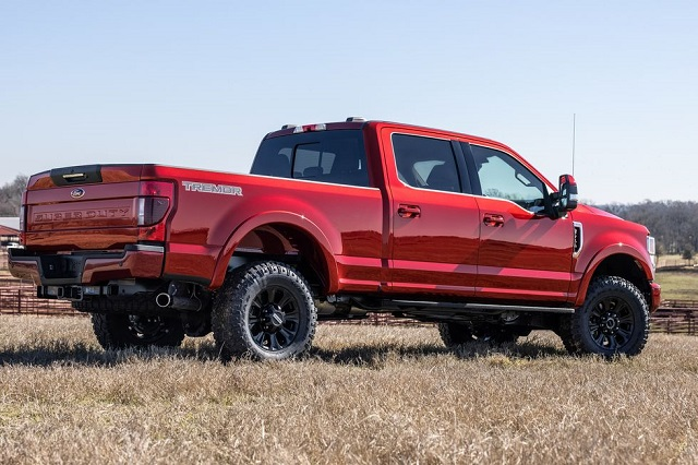 2022 Ford F-Series Super Duty rear