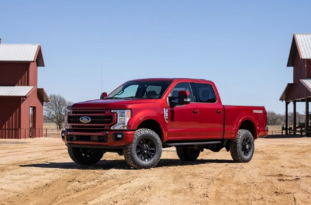 2022 Ford F-Series Super Duty side