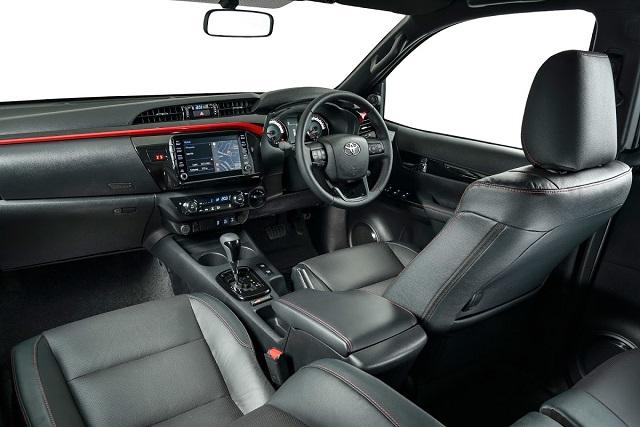 2022 Toyota Hilux GR Sport interior