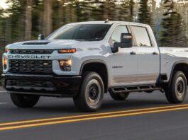 2022 Chevy Silverado HD front