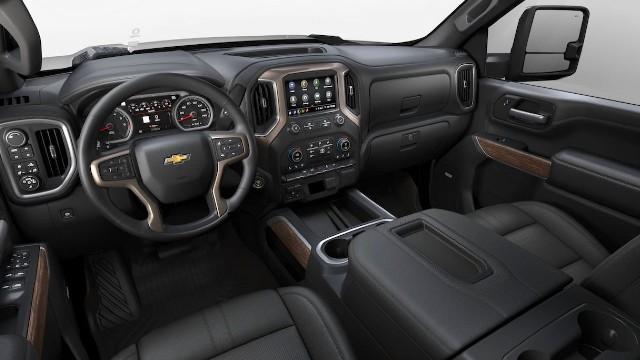 2022 Chevy Silverado HD interior