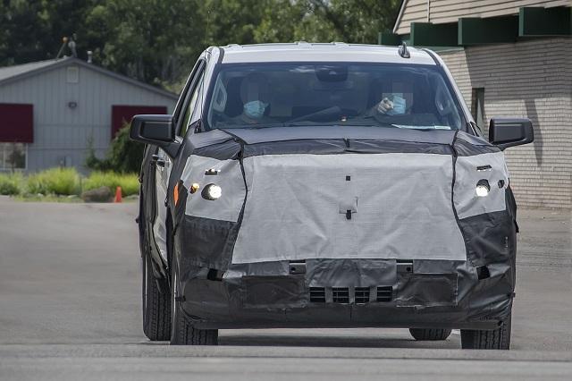 2023 Chevrolet Silverado 1500 front