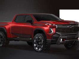 2023 Chevrolet Silverado 1500 renderings