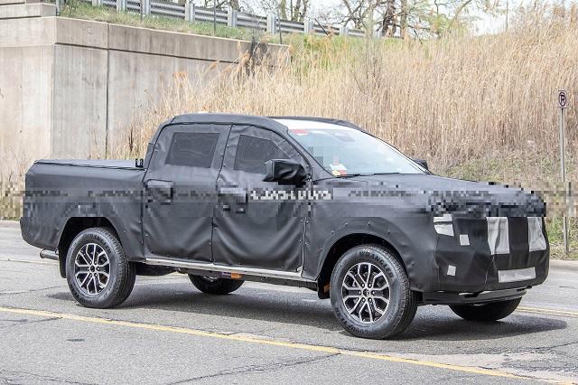2023 Ford Ranger front