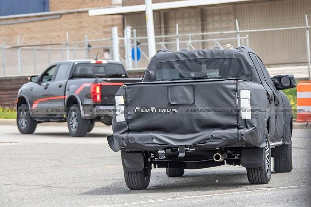 2023 Ford Ranger rear
