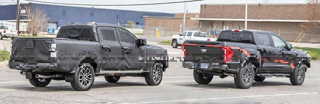 2023 Ford Ranger side