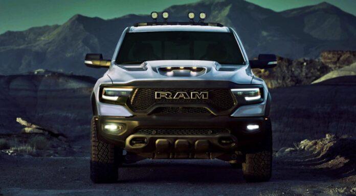 2023 Ram 2500 front