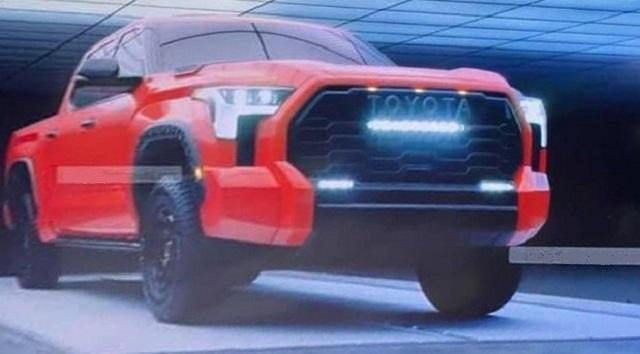 2023 Toyota Tundra front