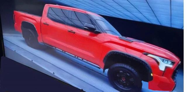 2023 Toyota Tundra side