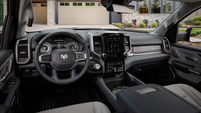 2022 Ram 1500 Limited interior