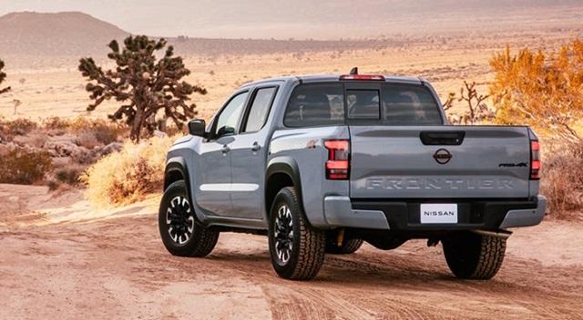 2023 Nissan Frontier rear