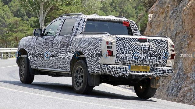 2023 Ford Ranger PHEV rear