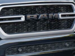 2023 Ram 1500 front