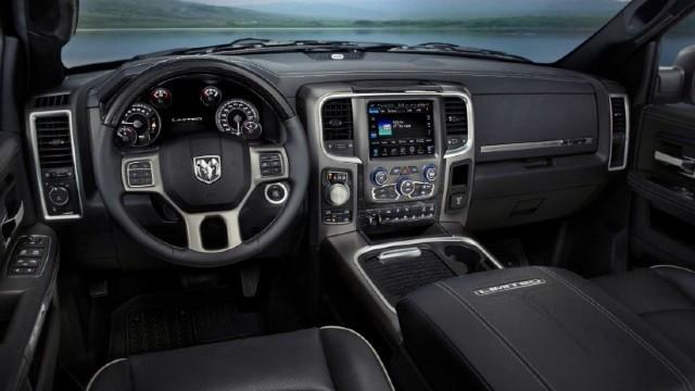 2023 Ram Dakota interior