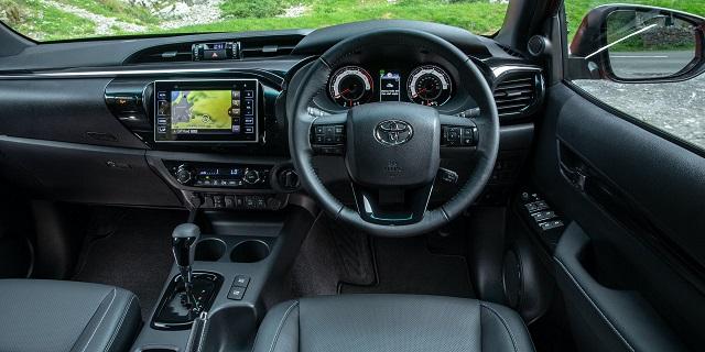 2023 Toyota Hilux Interior