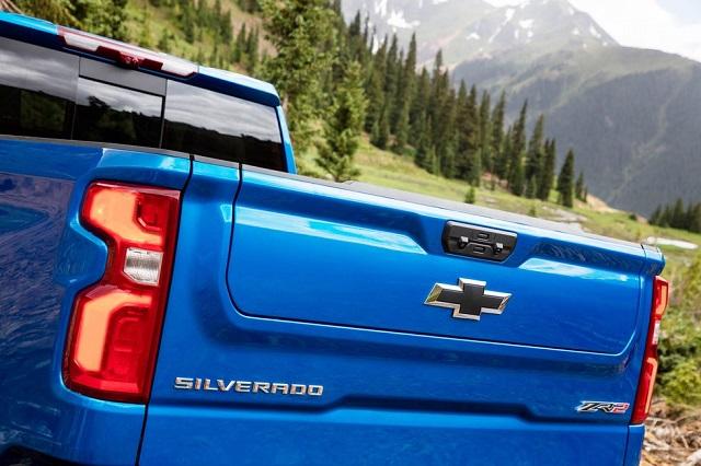 2023 Chevrolet Silverado ZR2 rear