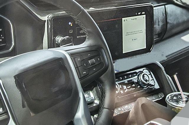 2023 GMC Sierra 2500HD interior