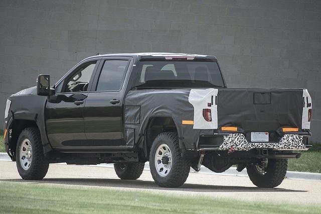 2023 GMC Sierra 2500HD rear