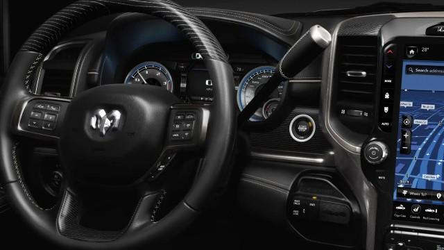 2023 Ram 3500 interior