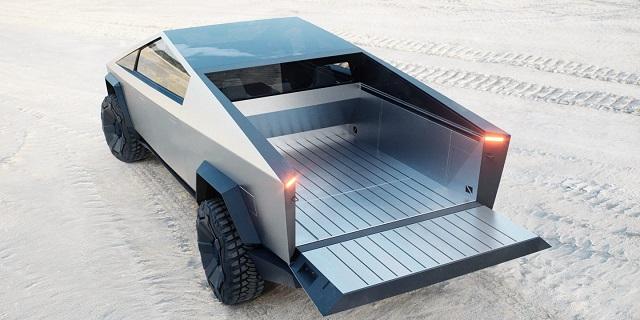 2023 Tesla Cybertruck rear