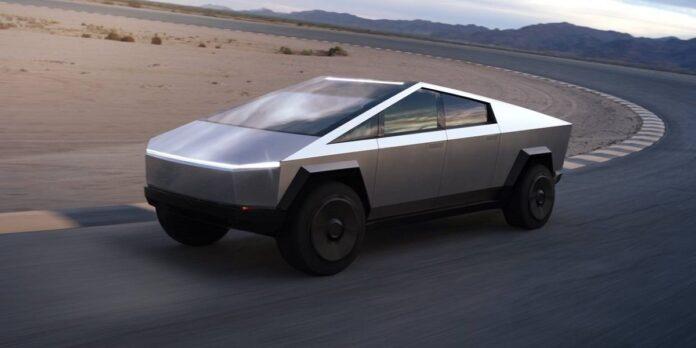 2023 Tesla Cybertruck side