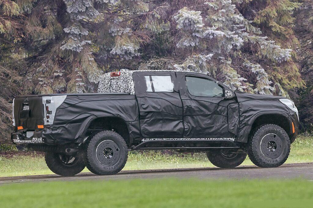 2023 Chevy Colorado ZR2 rear
