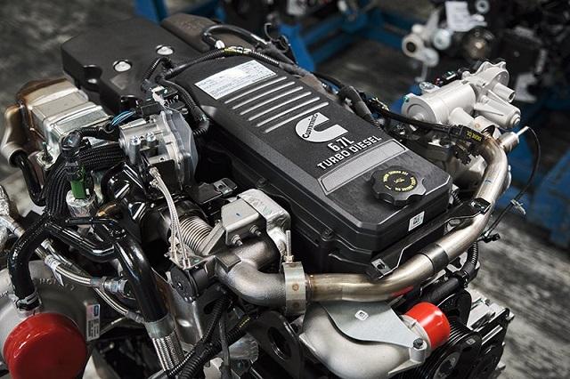 2023 Ram HD engine