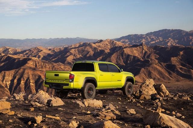 2023 Toyota Tacoma TRD Pro rear